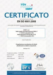 Certificazione ISO 9001 (Italiano)